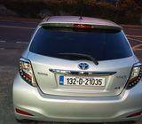 Silver Yaris Hybrid 1.5