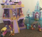 My little pony castles and ponies
