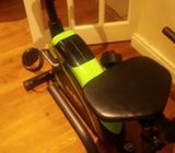 Klarfit excerise Bike with backrest