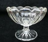 Vintage Clear Glass Bowl