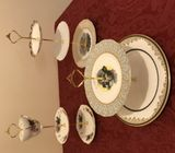 Vintage fine bone China cake stands