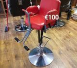 Barber chairs for sale!