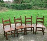 Dining Chairs/4