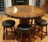 Dining table - Solid real wood, handmade and beautifully designed