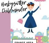Childminer- babysitter available Grange Area
