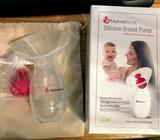 NatureBond Silicone Breastfeeding Manual Breast Pump. BPA Free