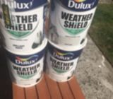 Dulux weathershield paint