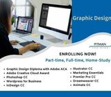 Enrolling Now for May & June 2020| Graphic Design Diplomas & Courses |