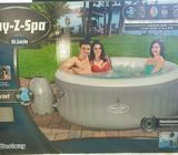 Hot tub lazy spa