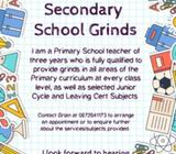 Primary & Post-Primary Grinds