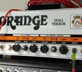 Orange Dual Terror + PPC212 Cab, Foot switch & Carry Bag