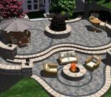 3D Design Serv Stone Outdoor Garden Landscaping