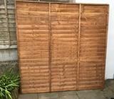 6ft x 6ft fence panel - new