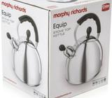 NEW Morphy Richards 2.5L Whistling Kettle (induction, ceramic, electric and gas)