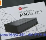 MAG 351 Linux 4K TV Set Top Box, Dual WiFi, MAG351
