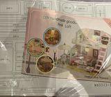 Diy Dollhouse Kit( 3 style available)