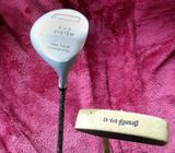 Bronty putter and Titanium  7 Wood golf clubs