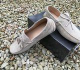 Genuine Italian Suede Men's Shoes (Brand New)