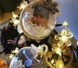 Christmas tree decorations with your photo