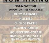 Experienced Bar & Waiting Staff