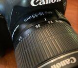 Canon EOS Rebel T2i Digital SLR Camera w/ 18-55mm/40mm/55-250mm