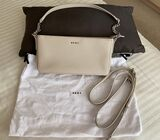DKNY BEIGE/NUDE CLUTCH BAG