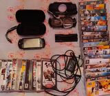PSP, with 35 games and assererys