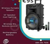 TWS Wireless Bluetooth Portable Trolley 12