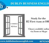 Online Cambridge exam classes offered