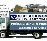 AA RUBBISH REMOVALS CALL PAUL 0872548894 PERMIT HOLDER a