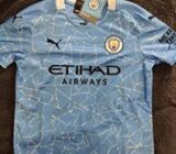 Manchester City 2020/21 Kids' Jersey 11-12 Yrs