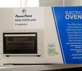 Mini oven/grill with two hotplates for sale