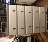 white and grey chest of drawers