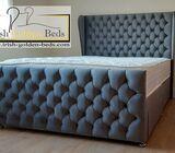 Bed frame and headboard + footboard