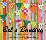 Wooden Personalised Bunting