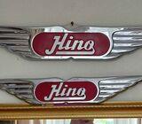 Wanted.  HINO truck badge