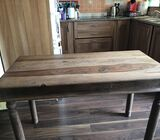 Small rosewood dining table €70 ono
