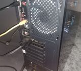 Gaming pc with monitor and gaming Chair