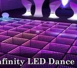3D INFINITY LED DANCE FLOORS -