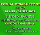 Intellectual Disability Studies 5N1652 | 14 Aug - 01 Sep 2021