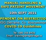 Manual Handling and Safe Patient Movement | Fri 10 Sep 2021
