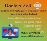 Online English Language lessons