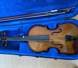 Size 3/4 Brown Fiddle / Violin For Sale