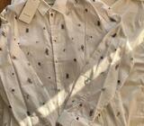 GUCCI SNAKE DRESS SHIRT/USED/SIZE: XL/ORIGINAL RECEIPT/€350