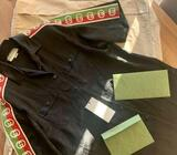 GUCCI OVER SIZE BOWLING SHIRT/USED 1 TIME/SIZE 48 ITALIAN/DIGITAL RECEIPT/€500