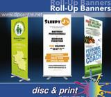 Roll-Up Banner, Pop-Up Banner, Printing, High Quality, Full Colour