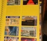 103 CALL CARDS some unused and rare
