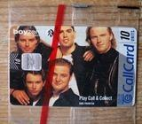 Boyzone Callcard