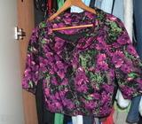 Floral jacket with buttons 10