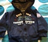 Fleece lined hoody 18-24